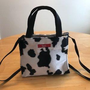 Cow Print Handbag